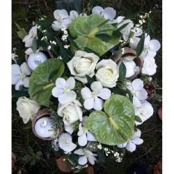 Blumenstrauß - Weißer