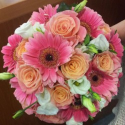 Wedding bouquet - Orange