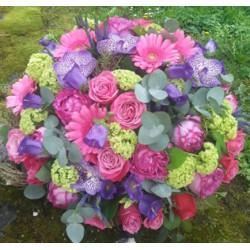 Bouquet Léa - Rose Vert