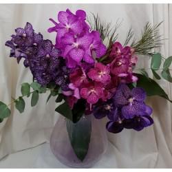 Bouquet orchidées vanda...