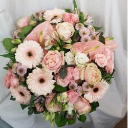 Bouquet - Pastel Rose-fête...