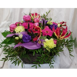 Flower basket - Multicolor...