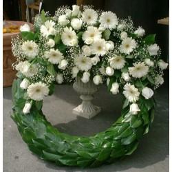 Wreaths - White
