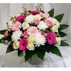 Bouquet-Pastel-pink- classic