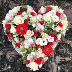 White Heart of Flowers