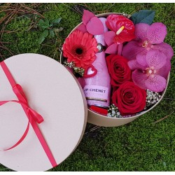valentines Flower box