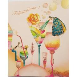 Congratulatory card