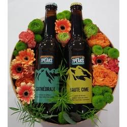 Boîte de fleurs-7 PEAKS-Duo...