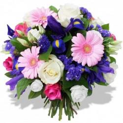 Round bouquet - pink