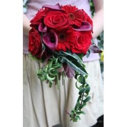 Rosso Bouquet da sposa